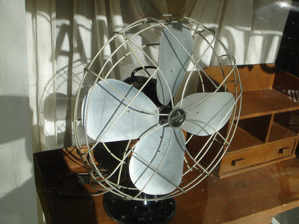 Antique Fan by Ryan Dickey